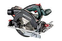 Аккумуляторная ручная дисковая пила Metabo KS 18 LTX 57 (601857700)