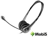 Наушники  Maxxtro CDM - 680MV + микрофон Silver