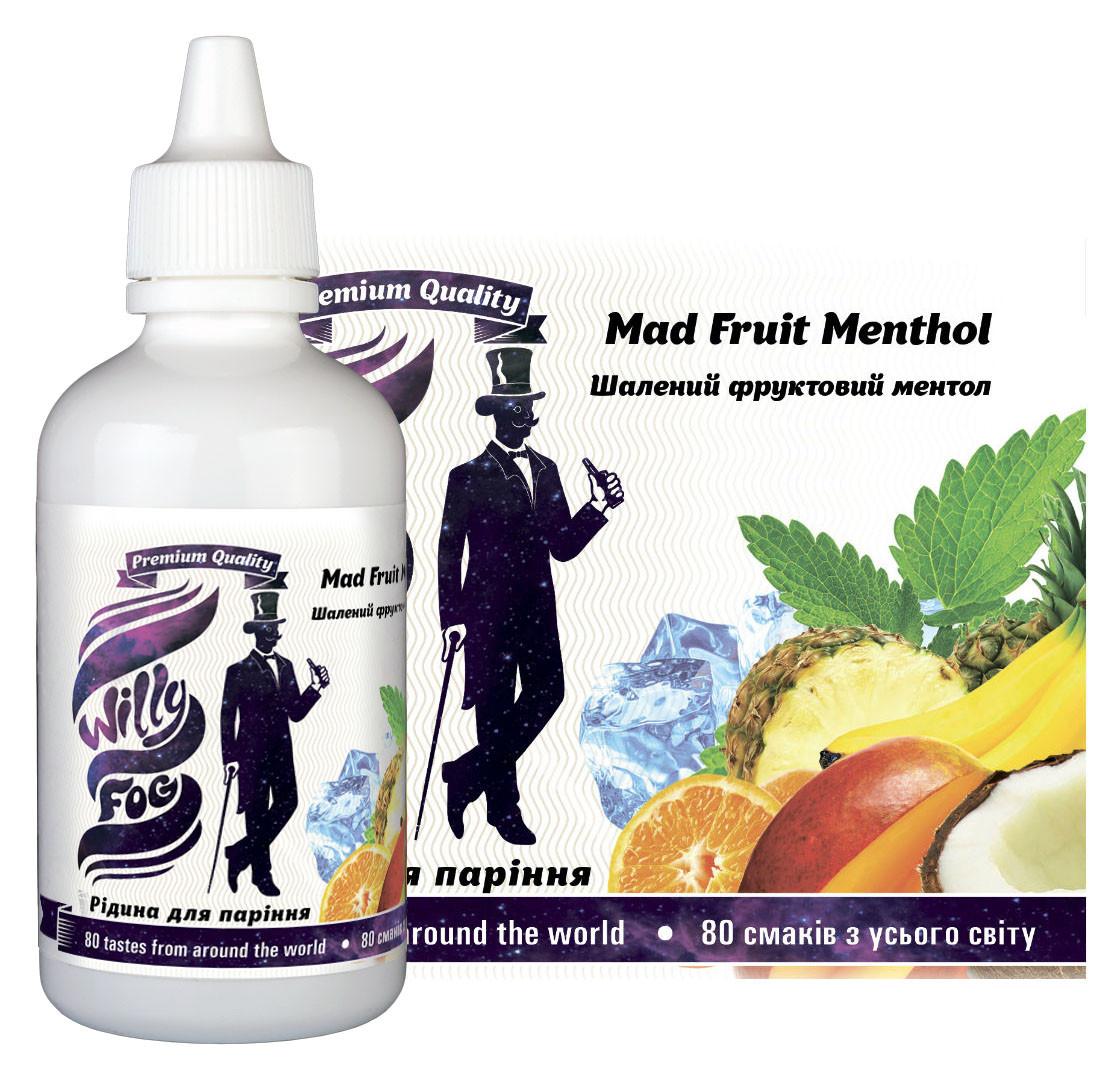 Рідина для паріння Mad Fruit Menthol 100ml