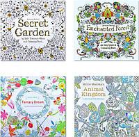 Раскраски Антистресс для детей и взрослых