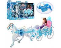 Карета для Золушки с лошадкой, куклой