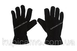 """Перчатки зимние флисовые, Reis Rpolarex """"черные"""""""