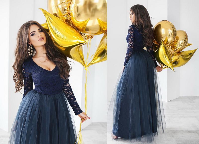 Красивое женское нарядное платье  +цвета