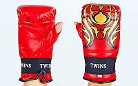 Снарядные перчатки с открытым большим пальцем DX TWINS MA-5437-R