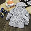 Толстовка в стиле скейт Five Stars KX0062-116p
