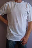Мужская футболка белая (кулир)