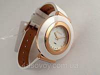Часы женские Guardo - Italy, цвет золото, белый ремешок