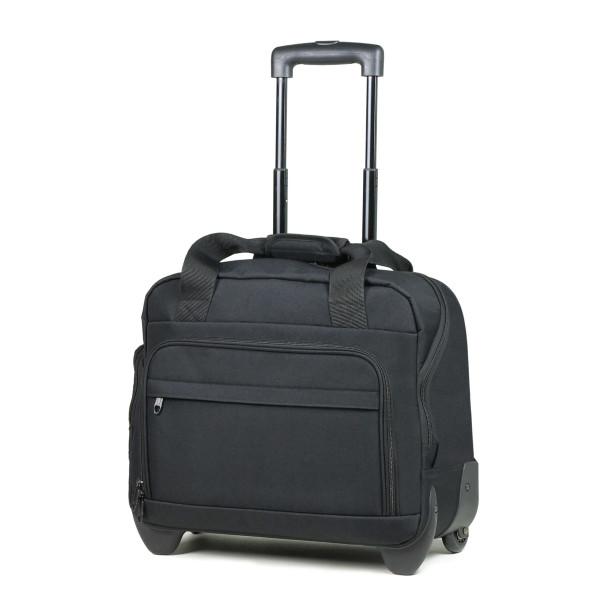Сумка дорожная на колесах Members Essential On-Board Laptop 21 Black