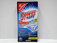 Таблетки для чистки унитаза Power WC-Tabs 16 шт.
