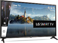 Телевизор LG 43LJ614v (PMI 1000 Гц, Full HD, Smart TV, Wi-Fi, Virtual Surround Plus 2.0 20Вт)