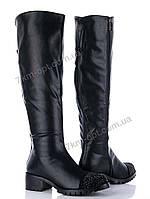 Сапоги женские 86-036 black
