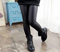 Теплые лосины под кожу, леггинсы, брюки для девочек 2-7 лет
