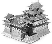 """Металева збірна 3D модель """"Замок Хімедзі"""", металевий конструктор Metallic Nano Puzzle, фото 1"""
