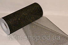 Фатин ширина 14,50см Glitter Black