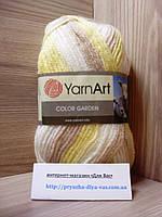 Пряжа (25%-шерсть, 75%-акрил, 100г/200м) YarnArt Color Garden 48