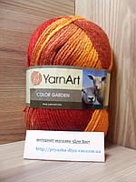 Пряжа (25%-шерсть, 75%-акрил, 100г/200м) YarnArt Color Garden 58