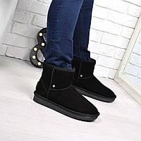 Угги женские Classic черные 3842 40 р, зимняя обувь