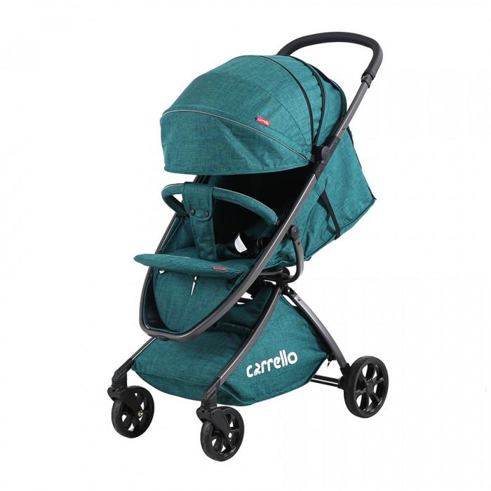 Детская прогулочная коляска CARRELLO Magia CRL-10401 Green/Sea Green  + дождевик S /1/ MOQГарантия качества