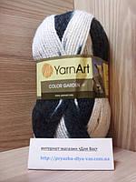 Пряжа (25%-шерсть, 75%-акрил, 100г/200м) YarnArt Color Garden 28