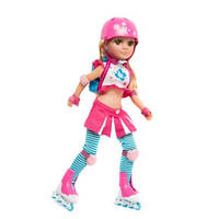 "Кукла Maylla ""Roller Girl"" из серии Faishion Girls с аксессуарами"