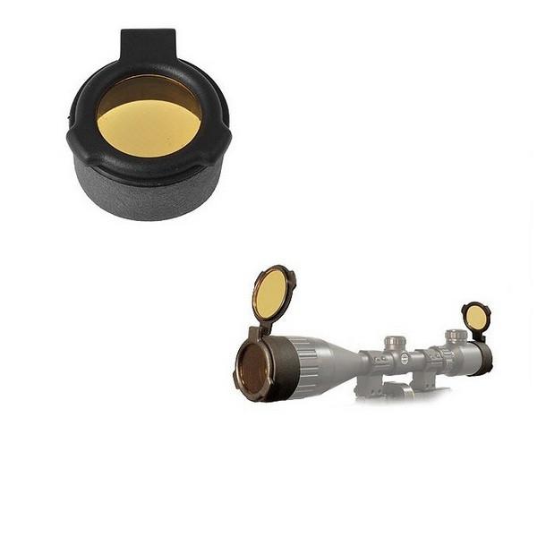 Крышка Hawke Flip Up Cover - Amber (Size 3.5) (HF1008)