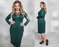 Красивое женское платье большого размера  +цвета, фото 1