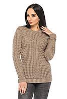 Модный вязаный свитер (в расцветках)