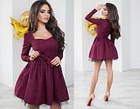 Красивое женское нарядное платье +цвета, фото 1