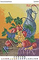 Схема для вышивки бисером или крестиком Домашнее вино