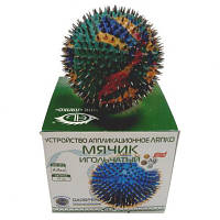 Аппликатор Ляпко «Мячик игольчатый» Арго купить в Украине остеохондроз, варикоз, бронхит, ангина, гастрит