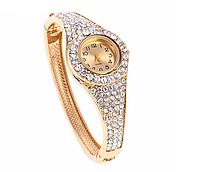 Наручные часы браслет женские с кристаллами код 322