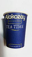 Стакан бум 250 мл Alokozay Алокозай, брендированный, с рисунком