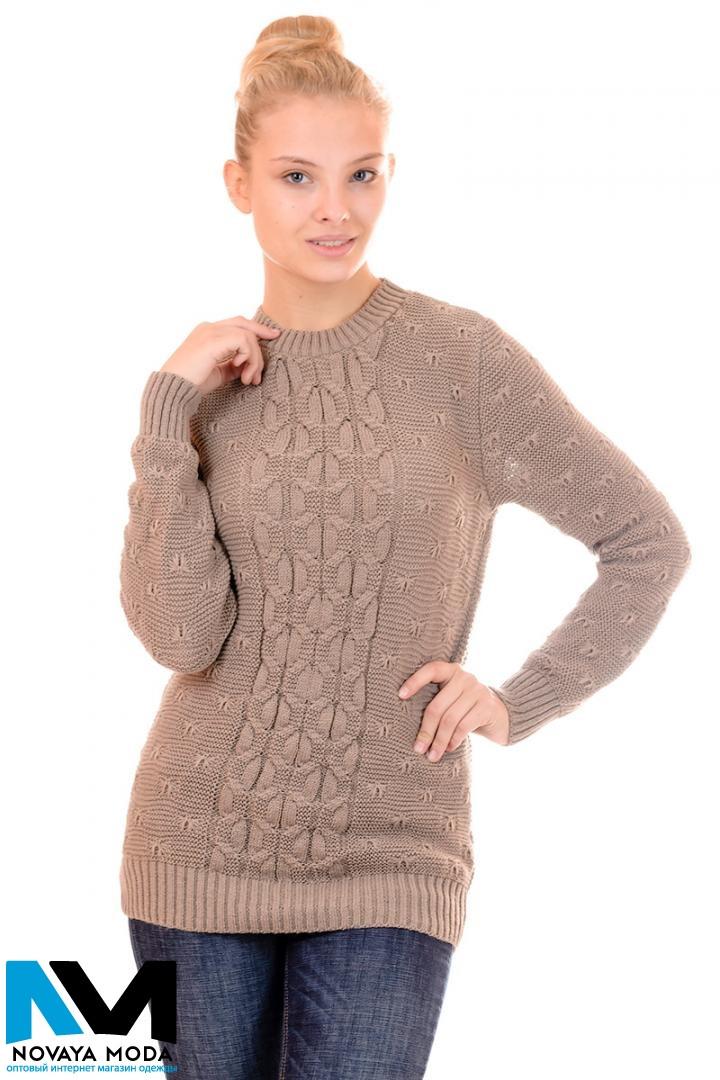 Женский классический свитер (в расцветках)