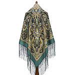 """Шаль из уплотненной шерстяной ткани с шелковой бахромой """"Единственная"""", 1757 - 12, фото 3"""