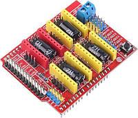 Плата расширения на 4 х A4988 CNC shield v3 для ЧПУ станка