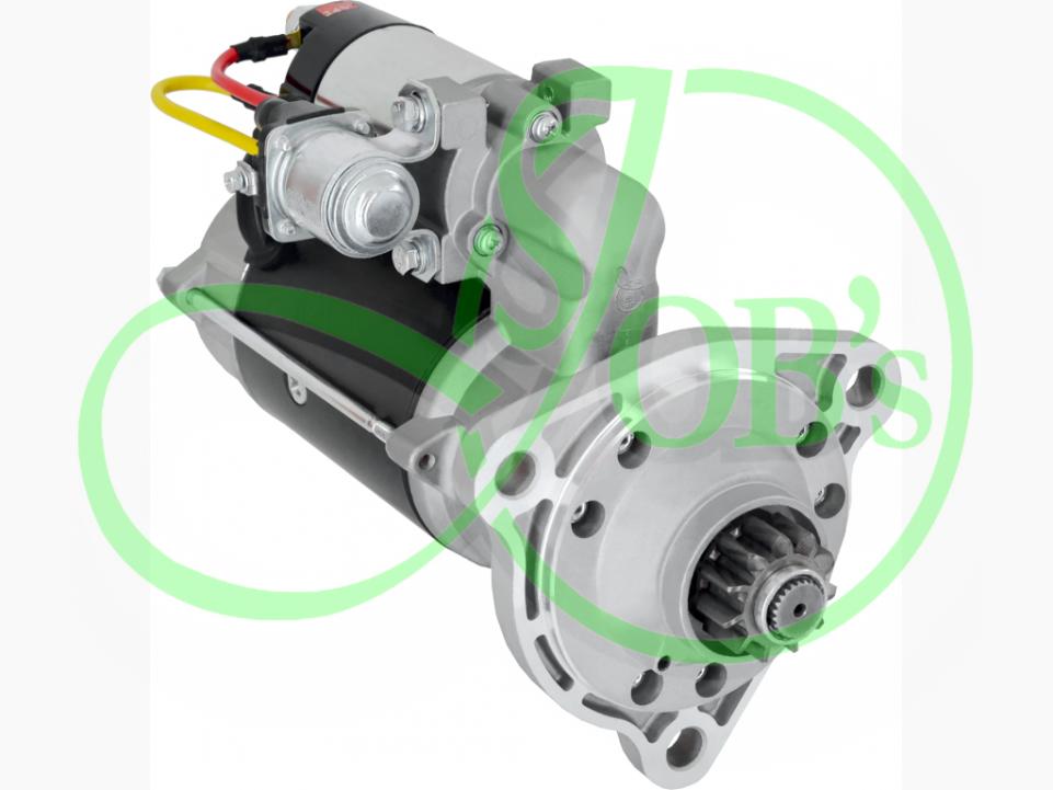 243708624 | Стартер редукторний DAF  75,  75CF,  CF85, 24В, 6.6 кВт (в-во ТМ JUBANA)
