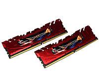 Оперативная память для компьютера 8Gb x 2 (16Gb Kit) DDR4, 2800 MHz, G.Skill Ripjaws 4, 16-16-16-36, 1.25V, с радиатором (F4-2800C16D-16GRR)