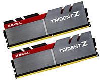 Оперативная память для компьютера 8Gb x 2 (16Gb Kit) DDR4, 2800 MHz, G.Skill Trident Z, 15-16-16-35, 1.25V, с радиатором (F4-2800C15D-16GTZB)