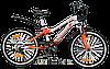 """Велосипед Winner 20"""" PUMA  рама 11"""" (бело-оранж)"""