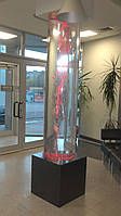 Создаем пузырьковые колонны и акваколонны из акрила