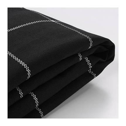 Чехол на 2-местный диван-кровать из ткани, цвет черный, фото 2