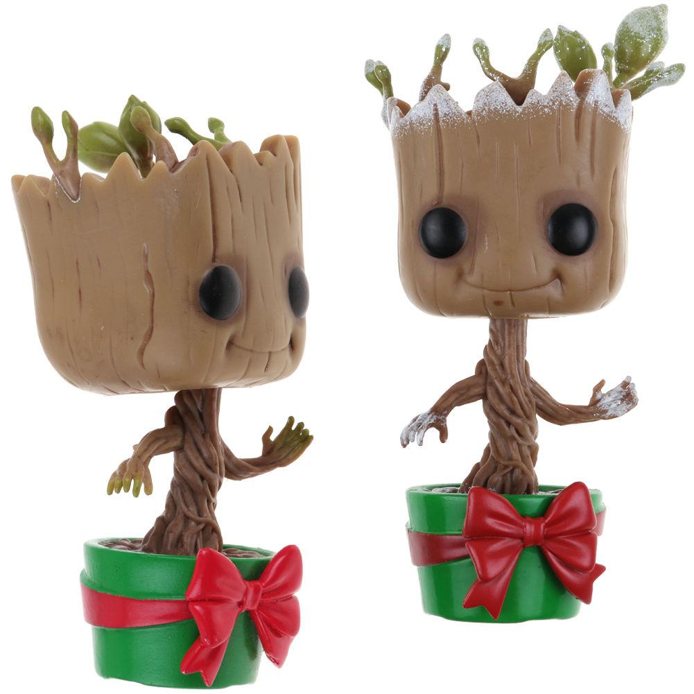 Фигурка Christmas Holiday Dancing Groot Стражи Галактики  Funko Pop # 101