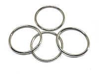 Кольцо металлическое 25 мм никель