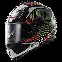 Шлем LS2 FF322 WARDOTS BLACK IRIS размер XL