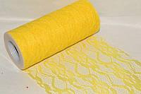 Кружево америка 14,50см Yellow