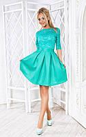 Романтичное легкое платье солнце-клеш