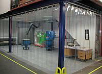 Полосовые завесы - прозрачные морозостойкие ПВХ