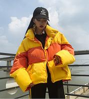 Женская куртка  желтый
