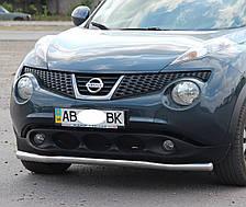 Кенгурятник одинарный ус на Nissan Juke (c 2010---) Ниссан Жук PRS