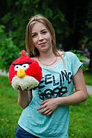 Angry birds Ред Птица красная 35 см